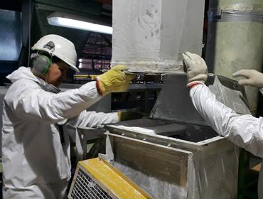 Servicio de mantención industrial
